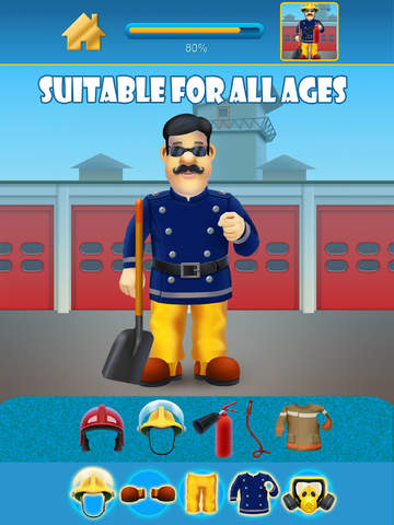Fireman and Policeman Junior City Heroes Pro - Copy and Draw Fire Rescue Maker Advert Free Game screenshot 10