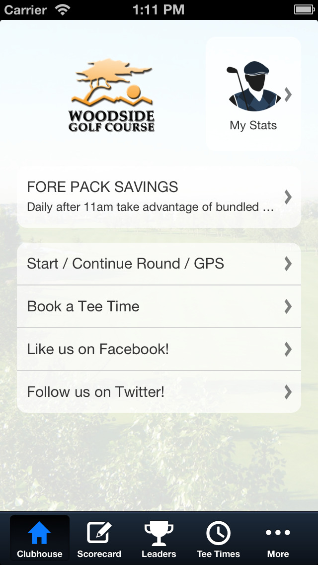 Woodside Golf Course screenshot 2