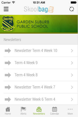 Garden Suburb Public School - Skoolbag - náhled