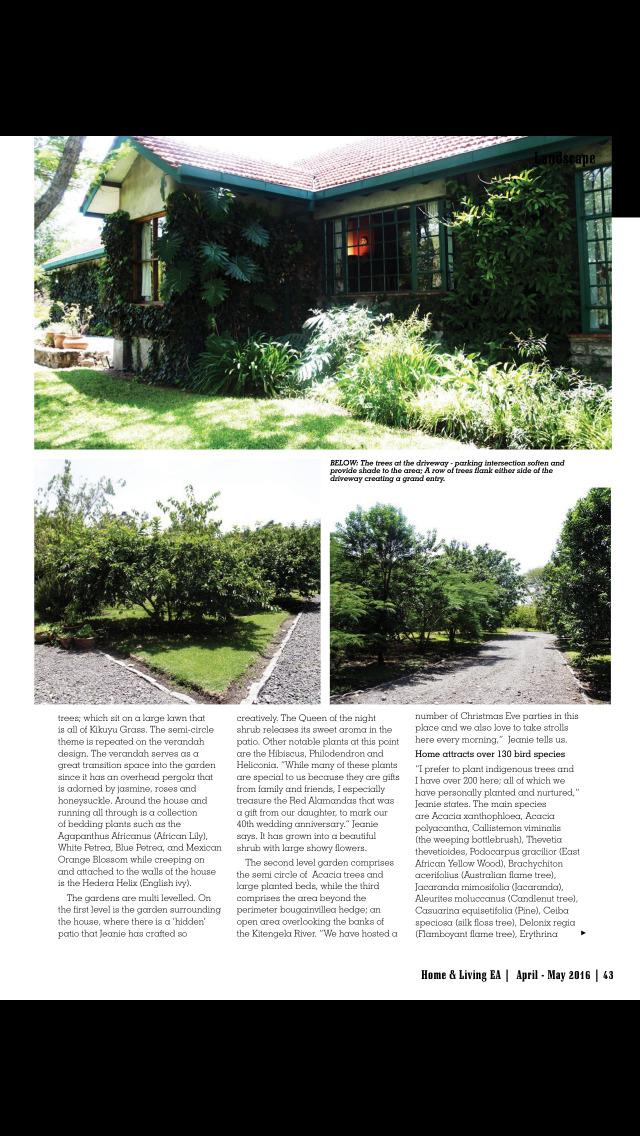 HOME & LIVING East Africa Mag screenshot 3