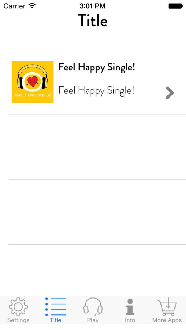 Feel Happy Single! Glücklicher Single sein screenshot 2