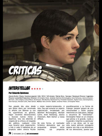 CINEMASCOMICS: LA REVISTA screenshot 9