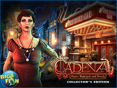 Cadenza: Music, Betrayal, and Death HD - A Hidden Object Detective Adventure (Full) screenshot 5