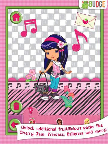 Strawberry Shortcake Card Maker Dress Up - Fashion Makeover Game for Kids screenshot 10
