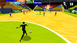 Indoor Soccer 2015: Ultimate futsal football game in beautiful arena by BULKY SPORTS [Premium] screenshot 4