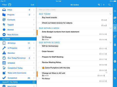 Informant - Agenda, Tasks, Notes Planner screenshot 9