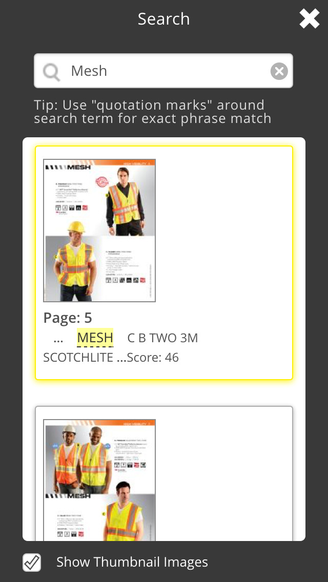 OccuNomix Safety Gear and Apparel Catalogs screenshot 2