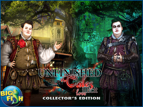 Unfinished Tales: Illicit Love HD - A Hidden Objects Fairy Tale screenshot 5