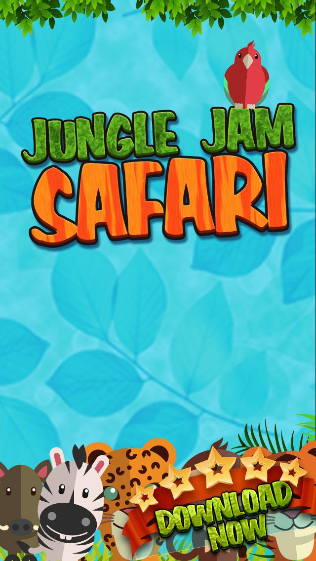 Jungle Jam Safari Strategy Game - Free Logic Test screenshot 1