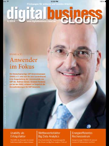 digitalbusiness Cloud screenshot 6