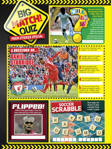 Match! The cool football magazine for young fans screenshot 9