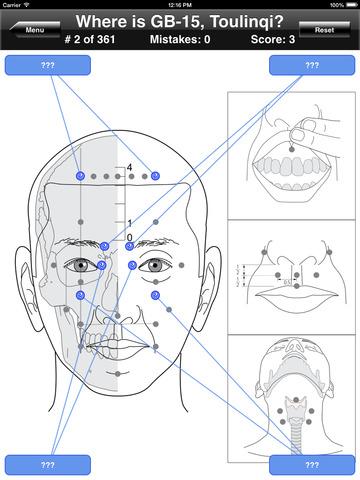 Acupuncture Points Body Quiz screenshot 9