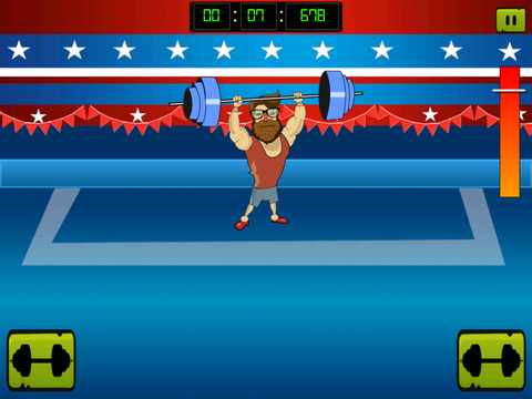 ` Hipster Weight Lifting: Tiny Meat Head Battle Competition Games screenshot 9