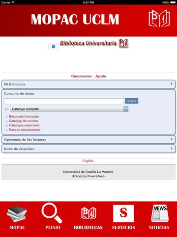 Biblioteca UCLM Universidad de Castilla La Mancha screenshot 9