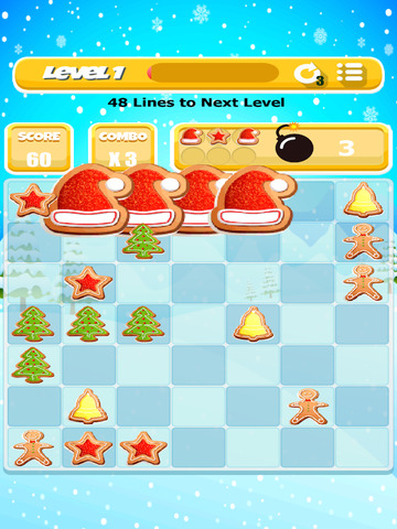 Christmas Cookie Match Game screenshot 7