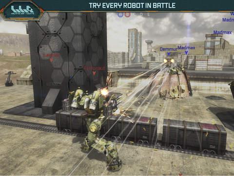 War Robots Multiplayer Battles screenshot 9