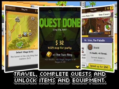 Knights of Pen & Paper screenshot 8
