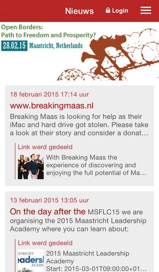 MSFL News screenshot 1