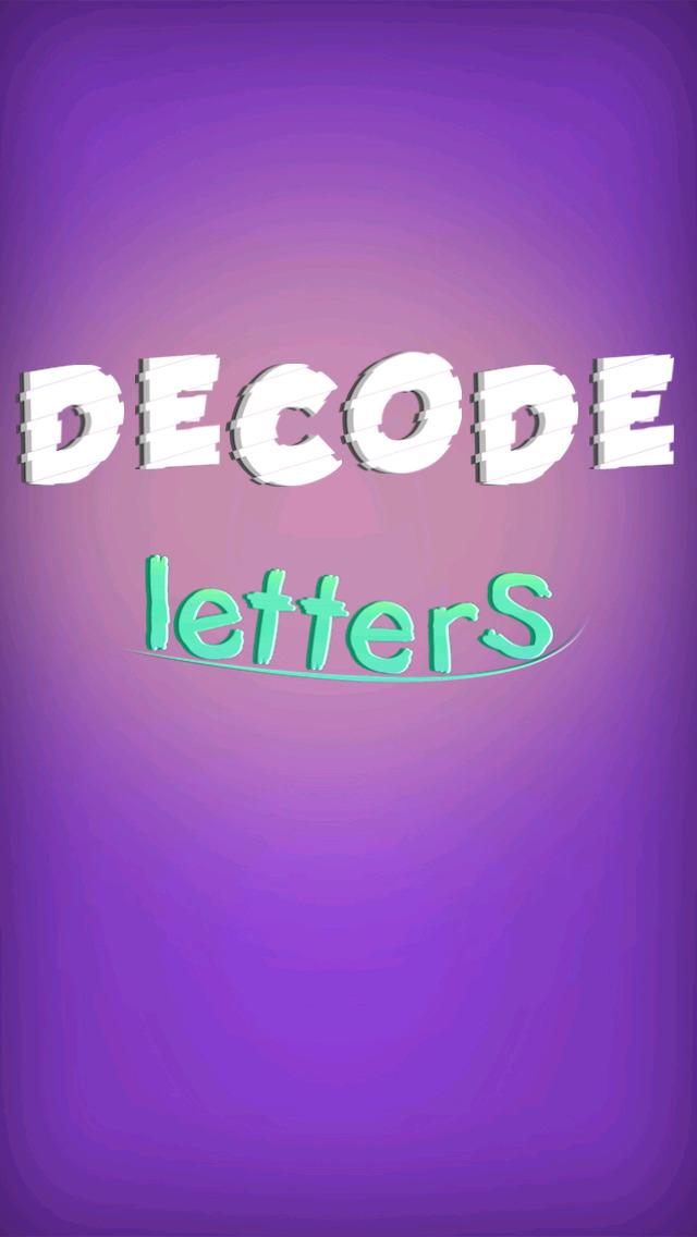 Decode Letters screenshot 1