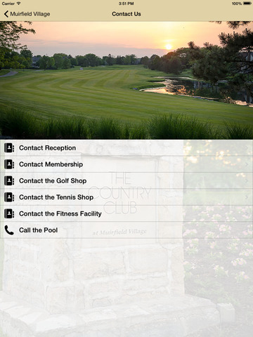 The Country Club at Muirfield Village screenshot 6