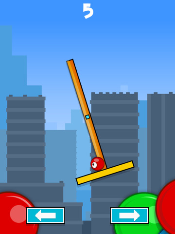 Flick & Swing vs Red Ball FREE screenshot 6