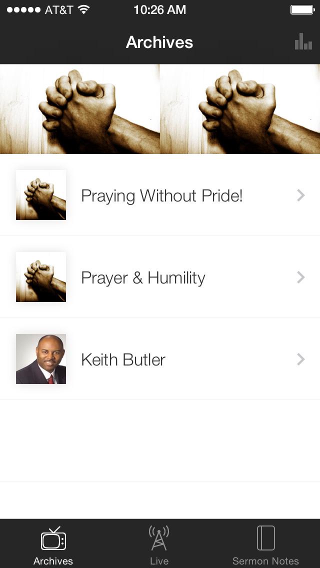 Faith Outreach Church screenshot 1