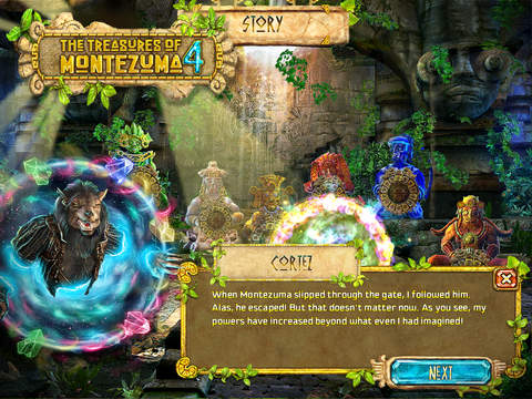 The Treasures of Montezuma 4 HD Free screenshot 3