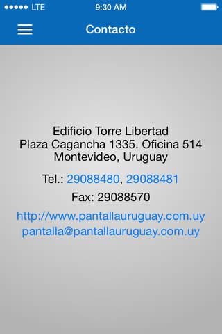 Pantalla Uruguay - náhled