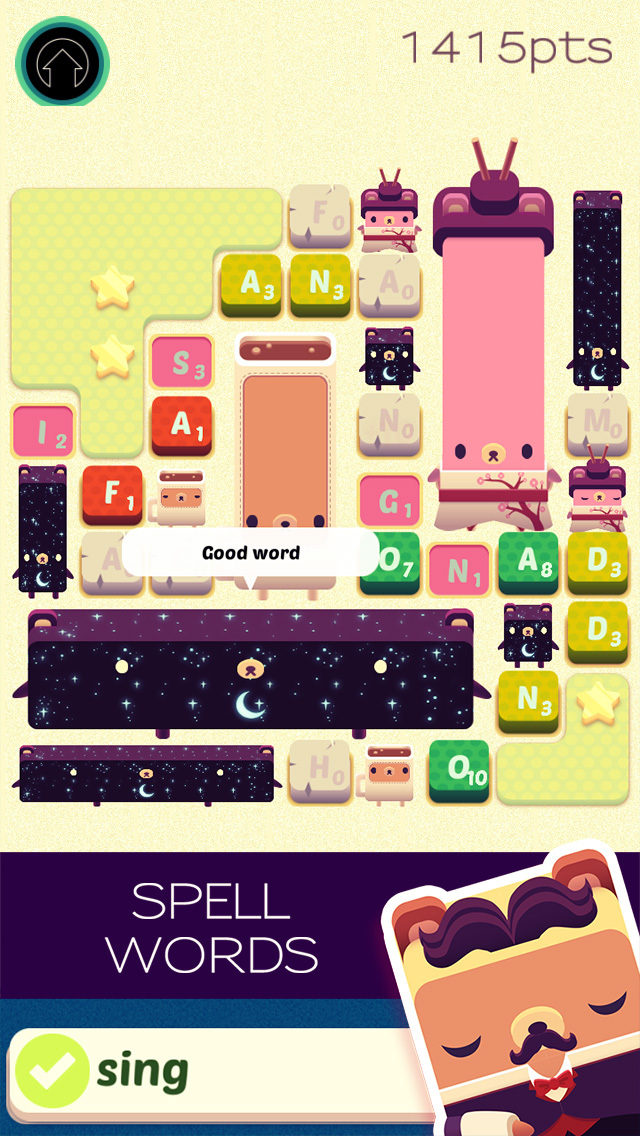 Alphabear: Word Puzzle Game screenshot 1