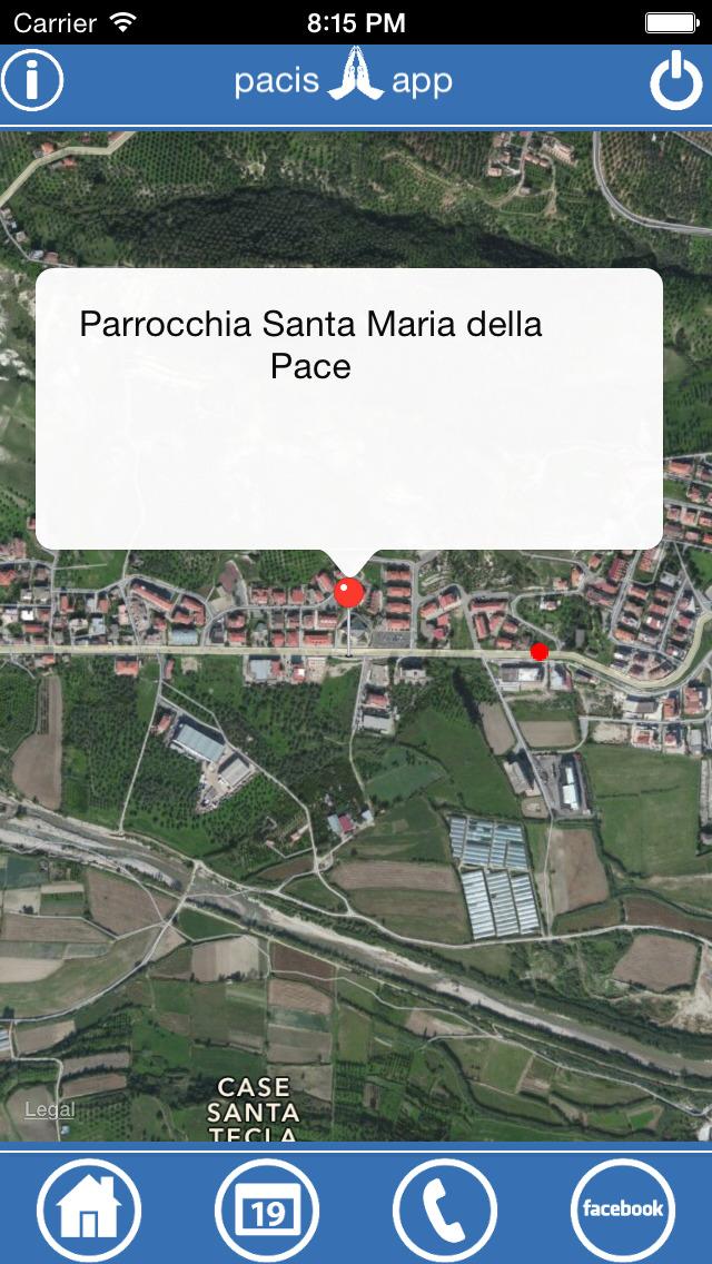 Pacis - Parrocchia Santa Maria della Pace screenshot 1