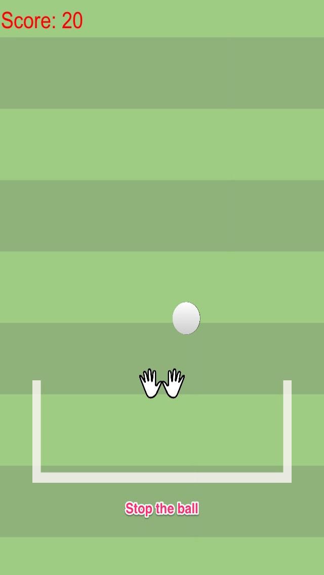 Agility goalkeeper vs fast moving football screenshot 2