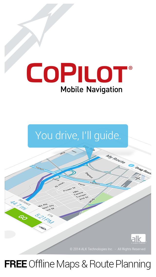 CoPilot GPS Navigation screenshot 1
