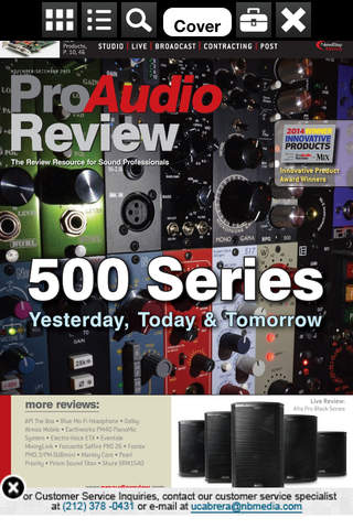 Pro Audio Review++ - náhled