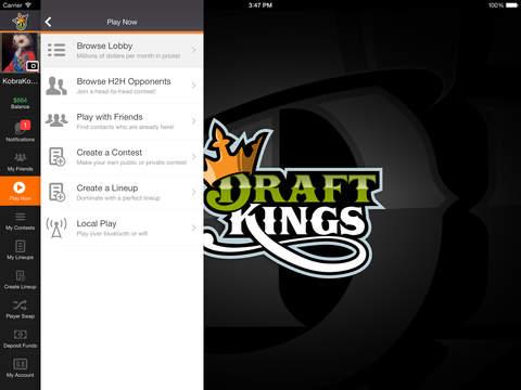 DraftKings Fantasy Football screenshot 7