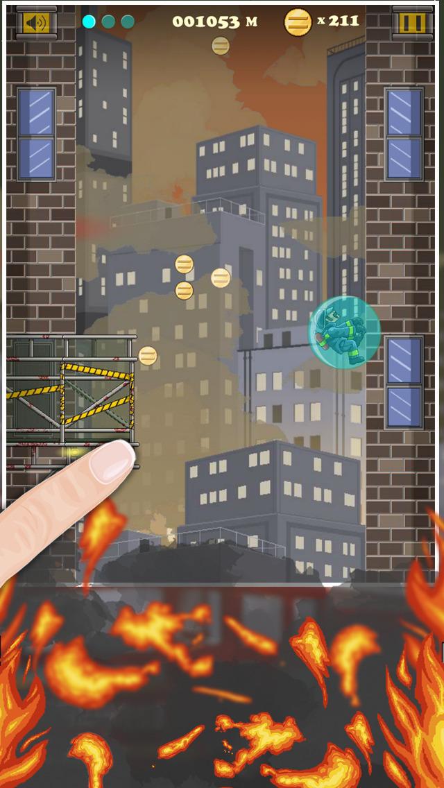 Fire & Smoke - Infernal Burning House Climber Game screenshot 4