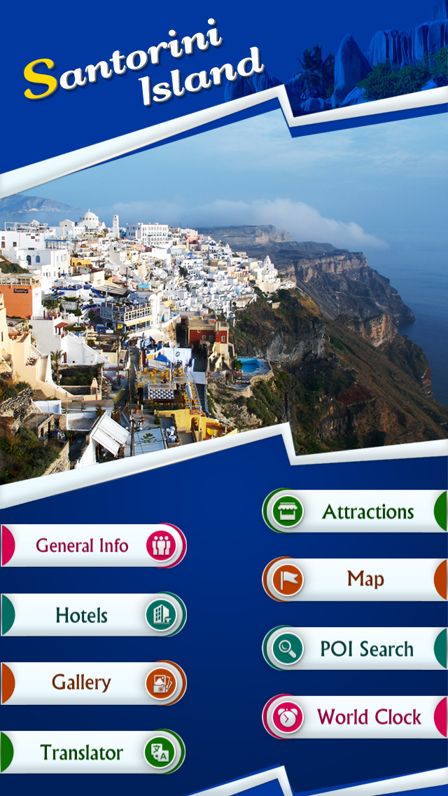 Santorini Tourism Guide screenshot 2