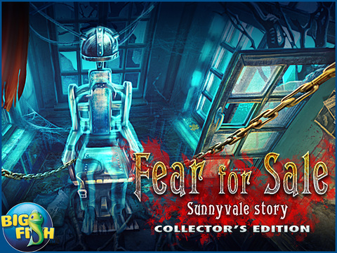 Fear for Sale: Sunnyvale Story HD - A Dark Hidden Object Detective Game screenshot 5
