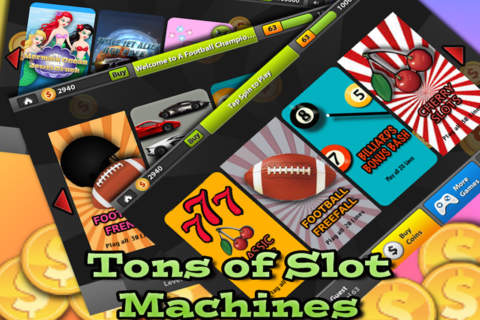 A 777 Football Champion Epic Vegas Slots-Spin to W - náhled