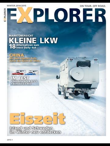 EXPLORER Magazin screenshot 6