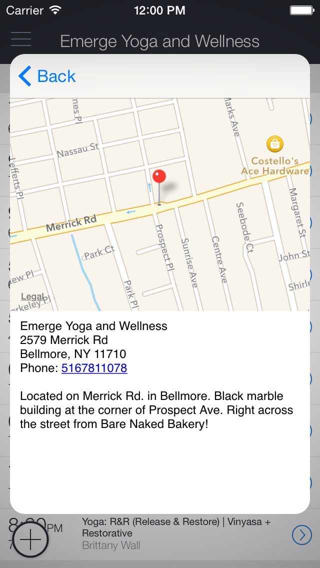 Emerge Yoga & Wellness screenshot 3
