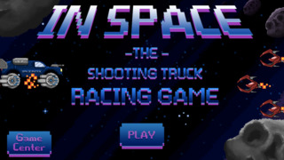 Retro Shooting Monster Truck In Space Racing Game Pro Full Version screenshot 4