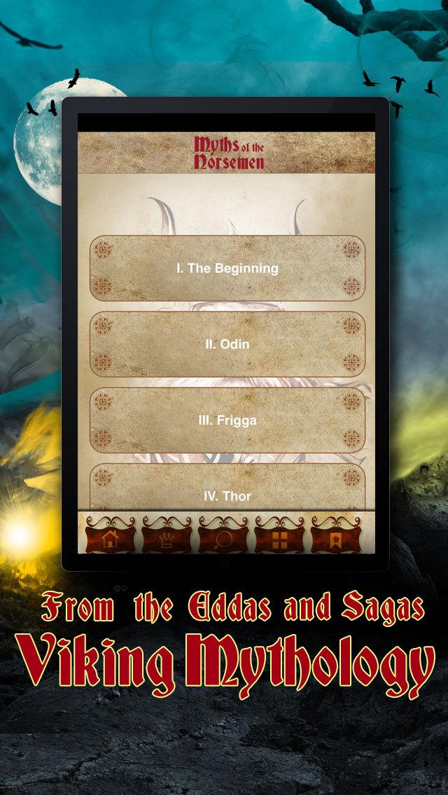 Myths of the Norsemen - Viking Mythology, Sagas & The Edda screenshot 2
