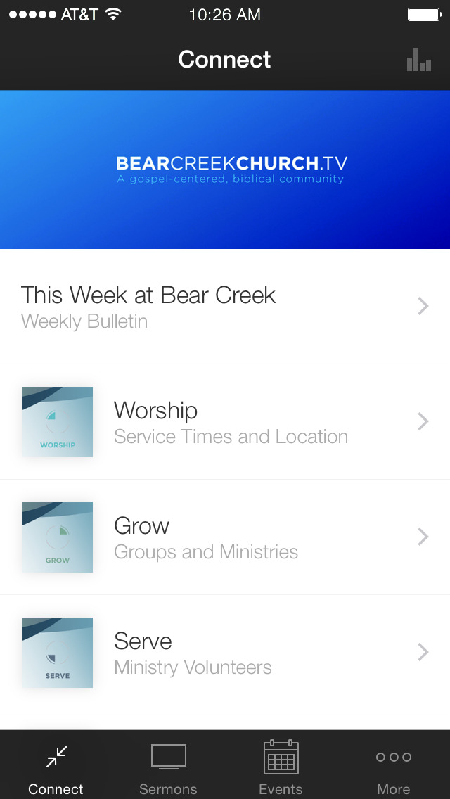Bear Creek Church screenshot 1