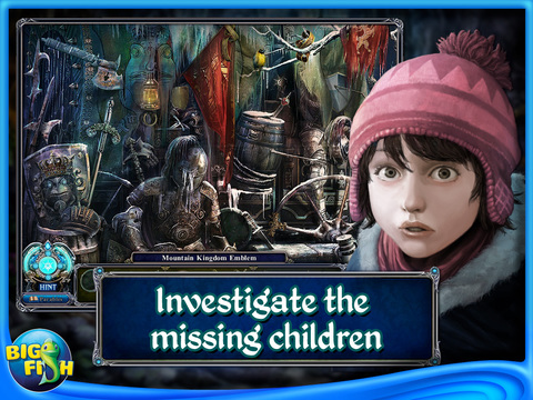 Dark Parables: Rise of the Snow Queen HD - A Magical Hidden Object Adventure (Full) screenshot 2