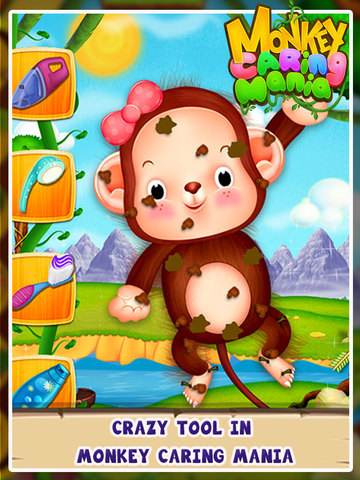 Monkey Caring Mania screenshot 5