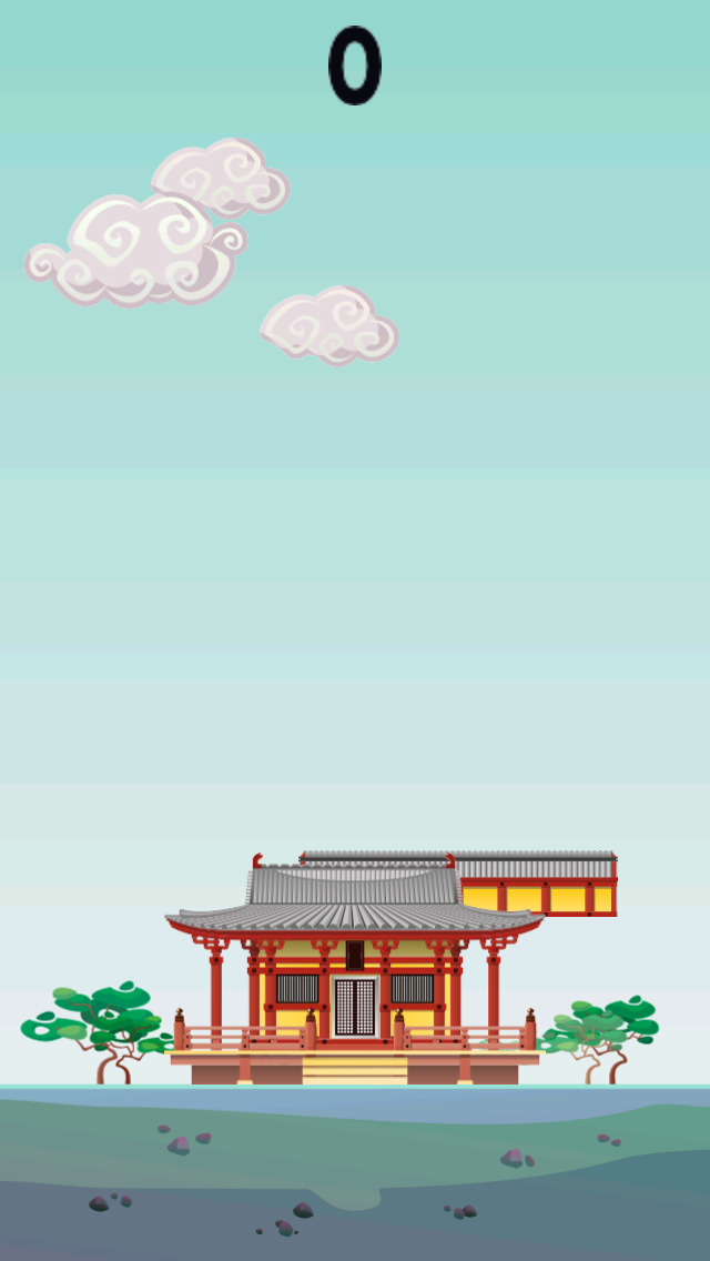 Ninja Tower Stack - Asian Building Puzzle Tap Game screenshot 2