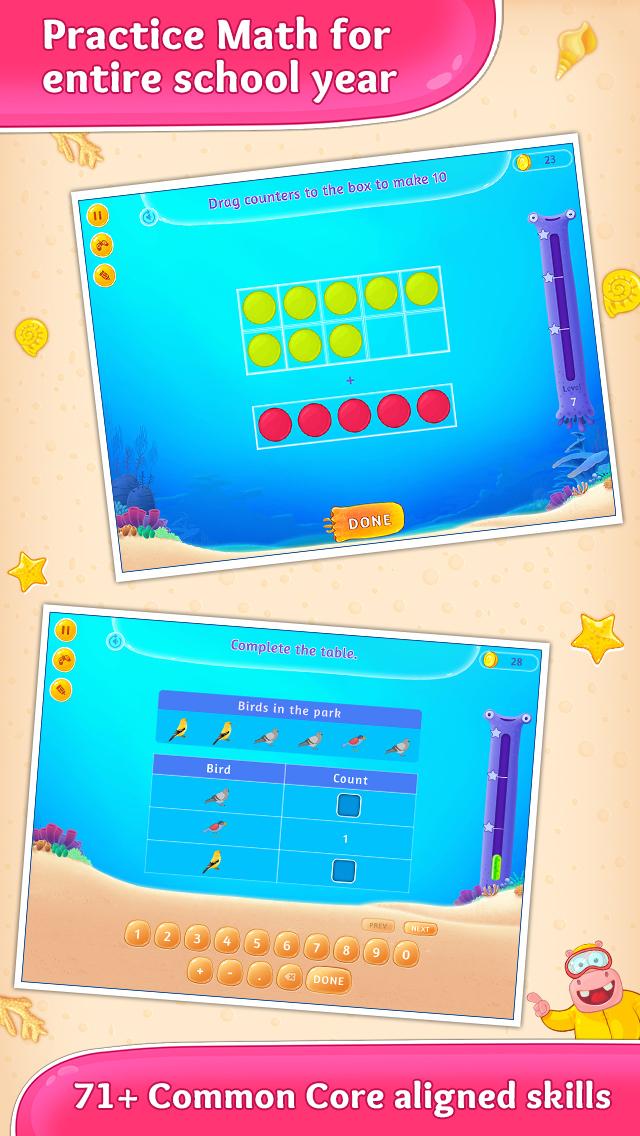2nd Grade Math Learning Games screenshot 2