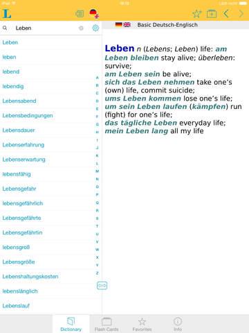 German <-> English Talking Dictionary Basic screenshot 6