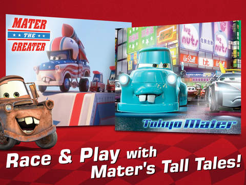 Cars: Tooned-Up Tales screenshot 6