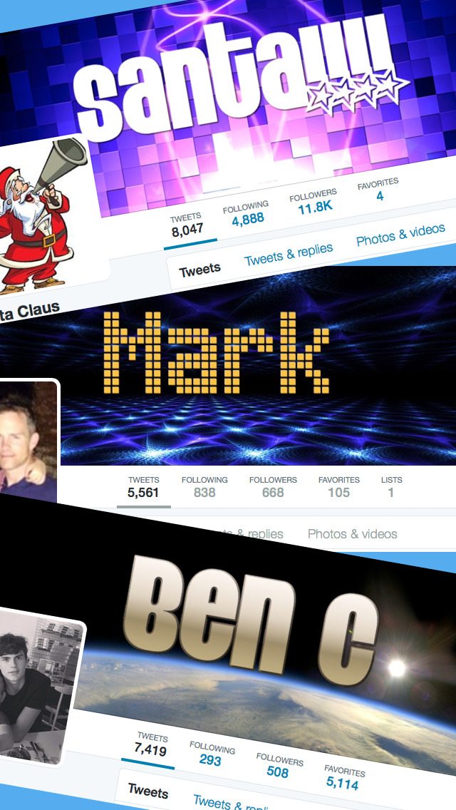 TwitWall - Custom Cover / Header Photo Maker for Twitter screenshot 1